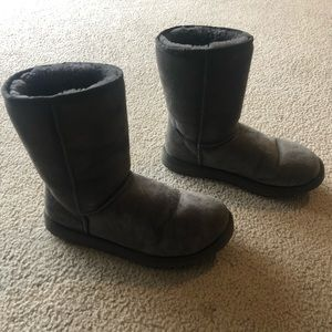 Classic Short Ugg Boots Size 9 Grey
